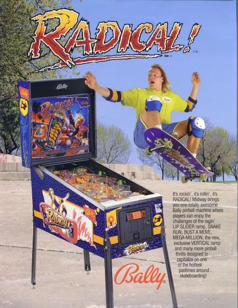 Radical Pinball Flipper