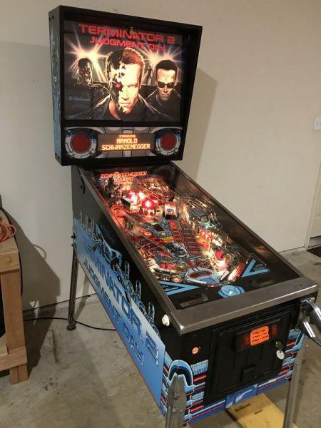 Terminator 2 Flipper Pinball