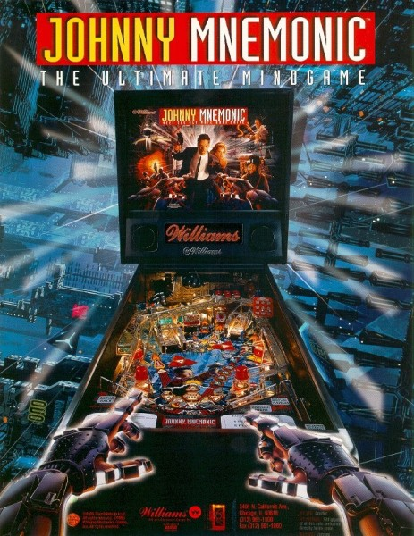 Johnny Mnemonic Flipper/Pinball