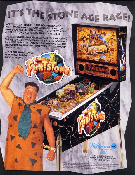 The Flintstones Flipper Pinball