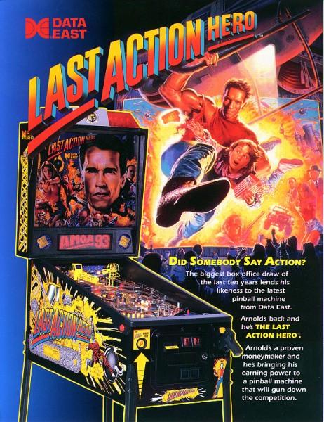Last Action Hero Flipper/Pinball